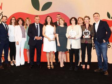 Foto de familia de la VI edición de los Premios Coles Activos