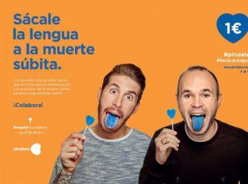 'Saca la lengua a la muerte súbita' con 'Pirulate', una iniciativa de la Fundación Brugada para recaudar fondos que irán destinados a la investigación contra esta enfermedad