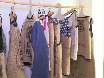 Descubrimos la moda ecológica a través de una tienda que fabrica prendas de ropa a partir de sacos de café reciclado