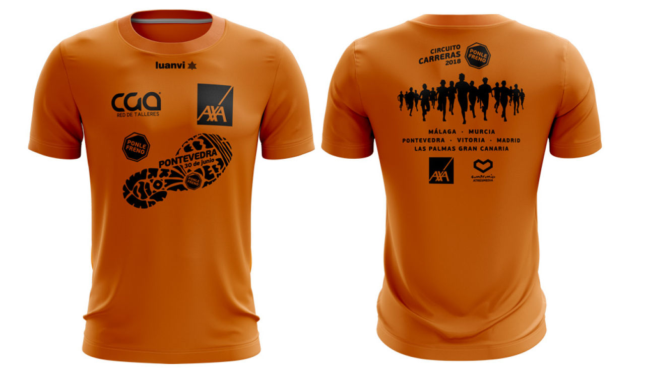Camiseta Carrera Ponle Freno Pontevedra