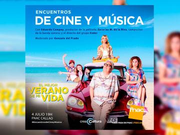 CreaCultura celebra un nuevo 'Encuentro de cine y música' de la película' El mejor verano de mi vida'