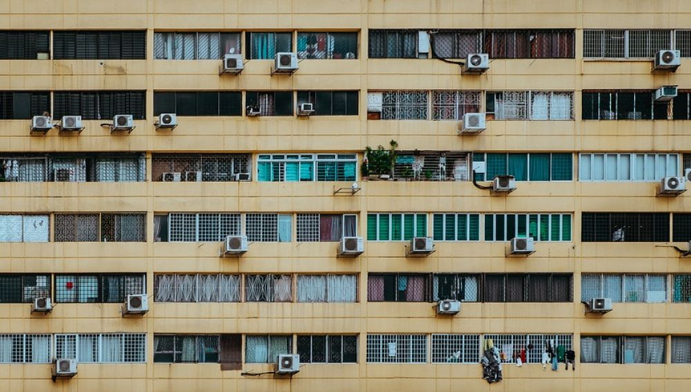 La contaminación atmosférica empeora con el mayor uso del aire acondicionado