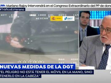 """Pere Navarro: """"La seguridad vial es vigilancia, control y sanción"""""""