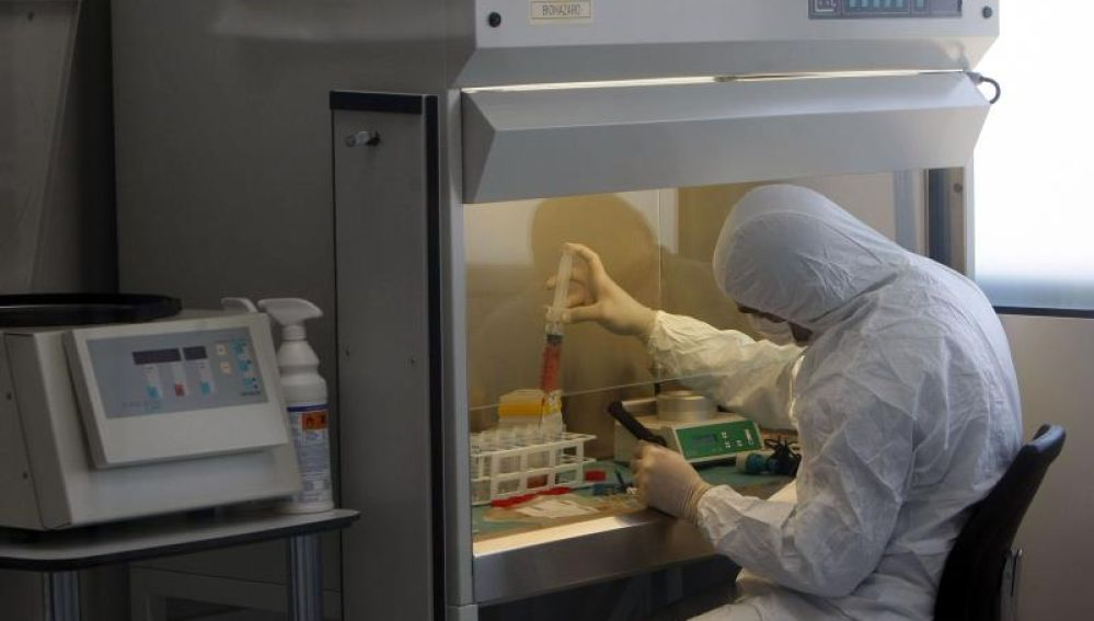 Un laboratorio especializado en investigación del cáncer.