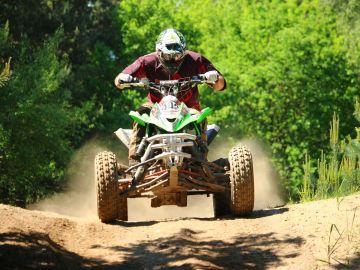 Casi el 70% de los accidentes de quad se produce por pérdida de control del vehículo