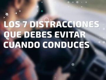 Las 7 distracciones que debes evitar cuando conduces