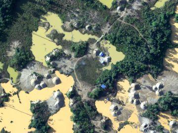 Un dron capta la deforestación en la selva amazónica de Perú