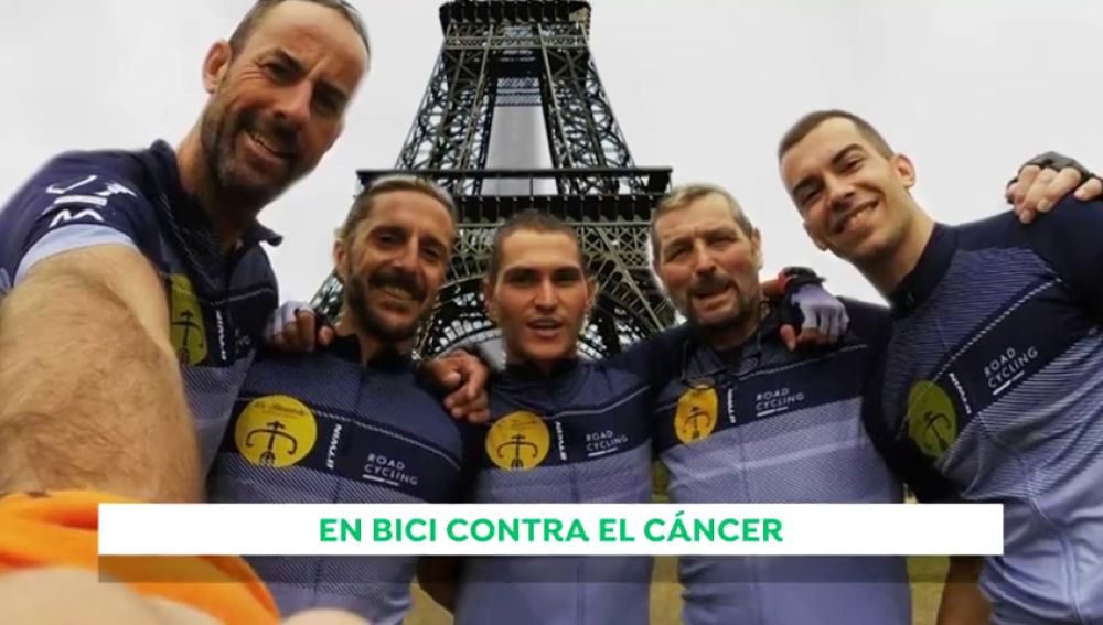 REEMPLAZO | Pedaladas solidarias contra el cáncer infantil: ciclistas españoles irán en bici desde París hasta Valencia para recaudar fondos