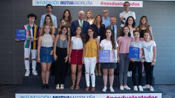 La Fundación Mutua Madrileña premia la creatividad de los estudiantes contra la violencia de género
