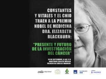 Constantes y Vitales y el CNIO traen a la Premio Nobel de Medicina 2009