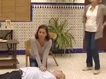 Masaje cardíaco a ritmo de 'La Macarena'