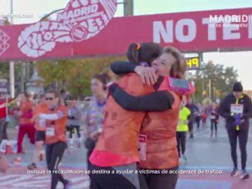 Llegamos a los 10 años de la carrera en Madrid pisando fuerte con la 'Huella Ponle Freno'
