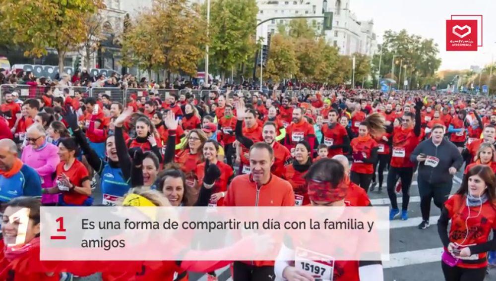 10 razones para apuntarte a la Carrera Ponle Freno de Madrid