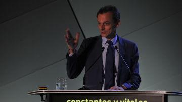 Pedro Duque, Ministro de Ciencia, Innovación y Universidades en Presente y Futuro Cáncer