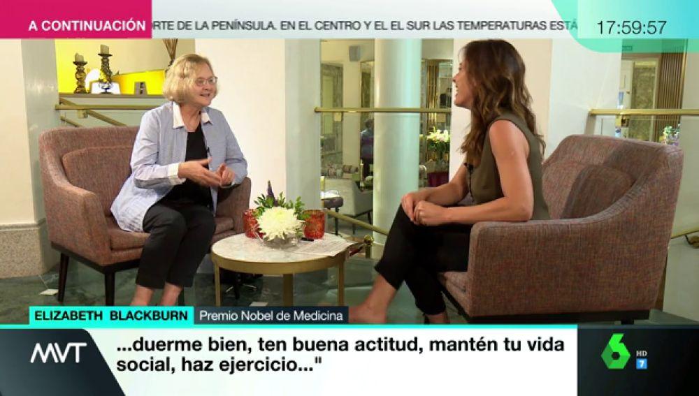 Entrevista Mamen a Premio Nobel