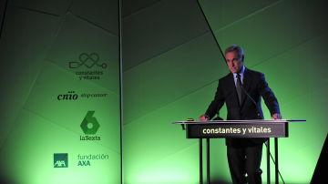 Silvio González, Consejero Delegado de Atresmedia, ha inaugurado el evento Presente y Futuro de la Investigación del Cáncer