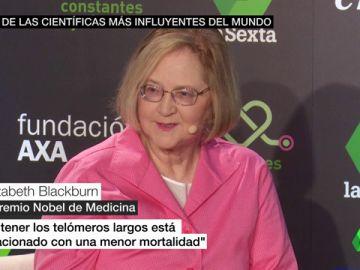 laSexta, a través de Constantes y Vitales trae a España a Elizabeth Blackburn, Premio Nobel de Medicina en 2009 por descubrir los telómeros