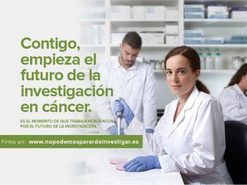La AECC recoge firmas para la Declaración Mundial por la Investigación en Cáncer