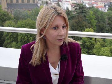 La escritora Eva García Sáenz de Urturi