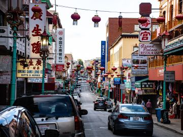 Imagen de una ciudad china
