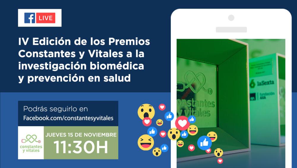 Facebook Live | Premios Constantes y Vitales