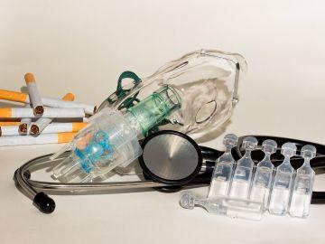 Instrumental médico para tratar la neumonía