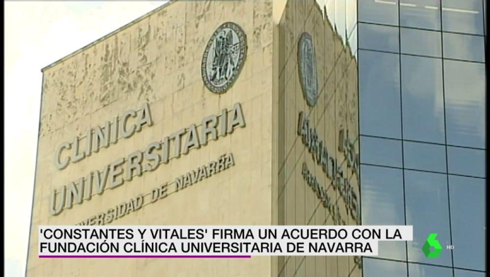 Constantes y Vitales firma un acuerdo con la Clínica Universitaria de Navarra para acercar los avances científicos a la sociedad
