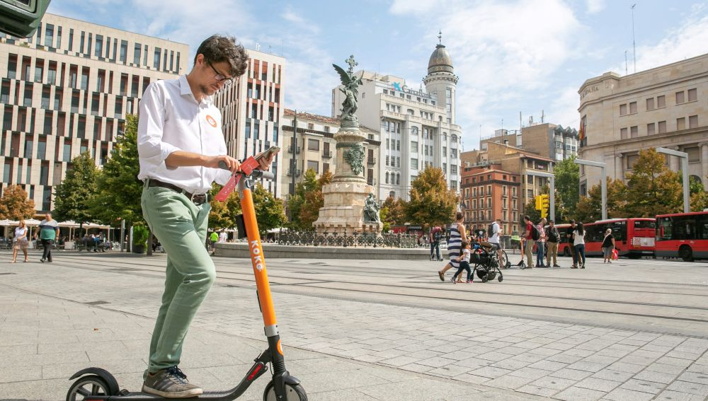 Patinete eléctrico en Madrid