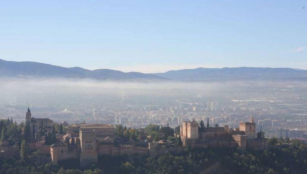 Contaminación atmosférica en Granada