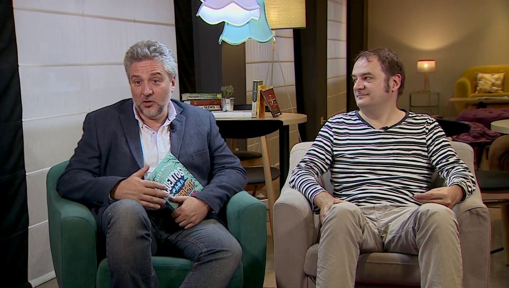Álvaro Rovira y Francesc Miralles en Crea Lectura