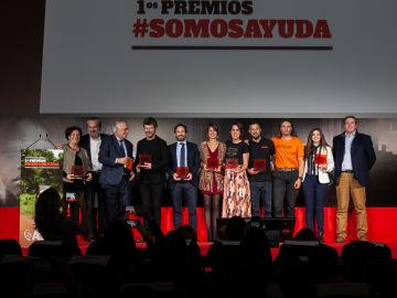 Atresmedia, reconocida en los 'Premios Somos Ayuda' por su apuesta por la Responsabilidad Corporativa con Compromiso Atresmedia