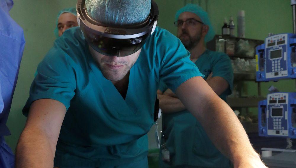 Realidad aumentada e impresión 3D en los quirófanos del Gregorio Marañon