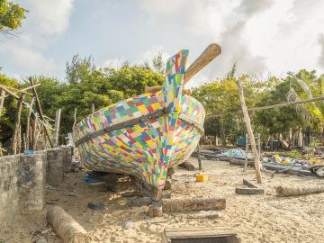 flipflopi, el barco hecho de plástico reciclado
