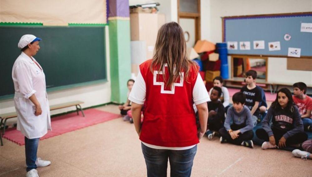 Alumnos de 30 colegios de la Comunidad de Madrid aprenden la maniobra Heimlich