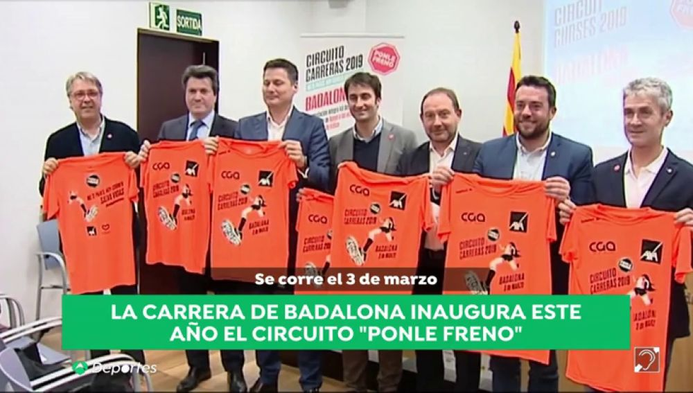 Comienza la cuenta atrás para la primera parada del Circuito de Carreras Ponle Freno 2019 en Badalona