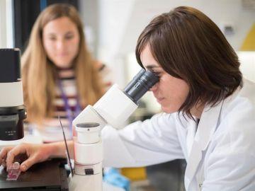 nvestigación liderada por Nuria Montserrat, (al microscopio en la imagen)