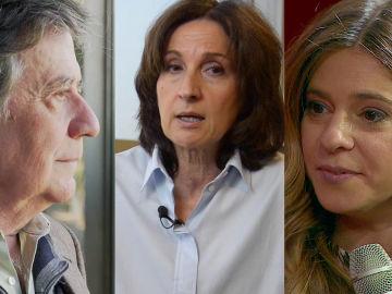 Paloma Sánchez-Garnica, Estela Baz y Luis Landero en Crea Lectura