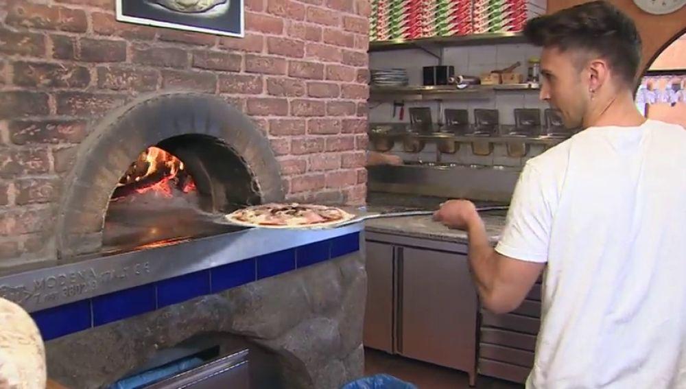 Así es un pizza rica y ecológica