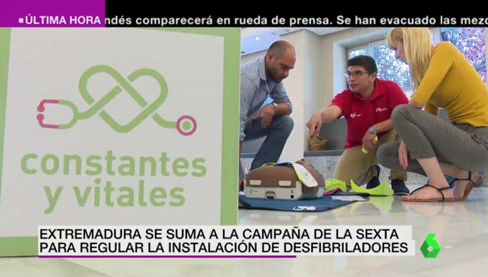 Extremadura ya es una comunidad cardioprotegida