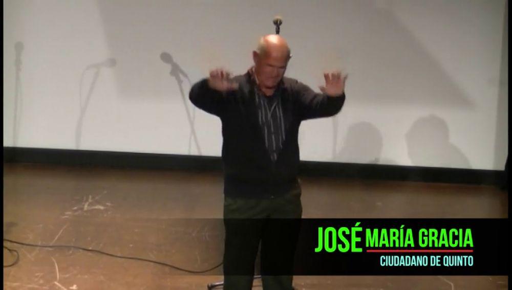 José María Gracia, finalista a 'Ciudadano Ponle Freno 2019'