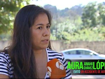 Aura Anahi Chávez López, finalista a 'Ciudadano Ponle Freno 2019'