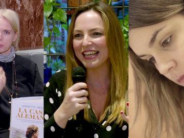 Annette Hess, Lucía Galán y Elvira Sastre en Crea Lectura