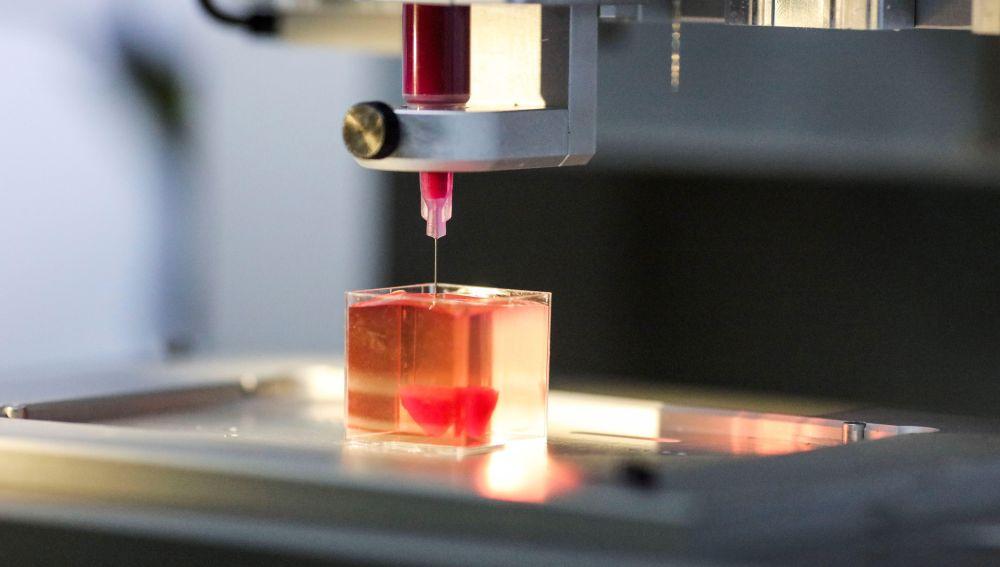El primer corazón humano hecho con una impresora 3D