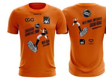 Camisetas de la Carrera en Málaga