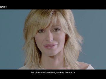 Susanna Griso, protagonista en el nuevo spot de Levanta la Cabeza, por un uso responsable de la tecnología