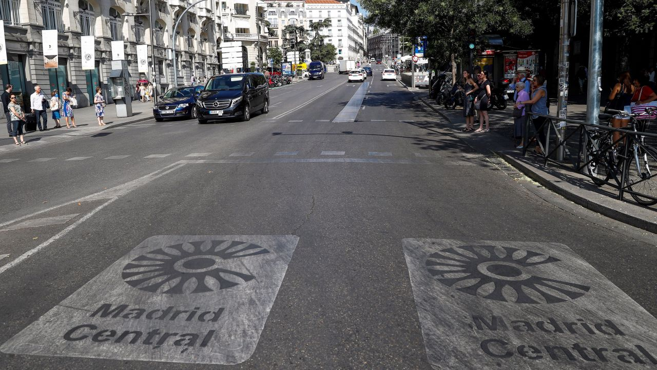 El Primer Año De Madrid Central Consigue Bajar La