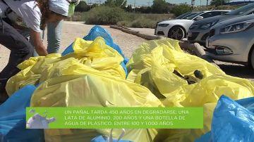 Más de 13.000 voluntarios limpian de basura entornos naturales para combatir la contaminación
