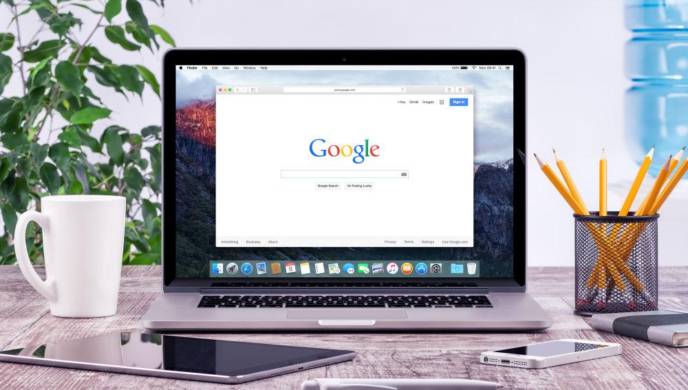 Google recopila todo tu rastro en su navegador o aplicaciones.