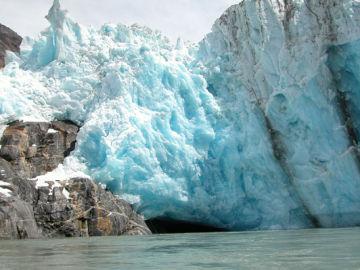 Los glaciares marinos se derriten mas rapido de lo previsto