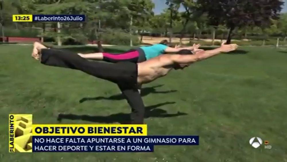 Entrenar al aire libre, una opción de lo más saludable para nuestro organismo